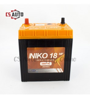 Niko 18 NS40ZL Car Battery MF for Perodua Myvi, Viva, Alza and Honda City