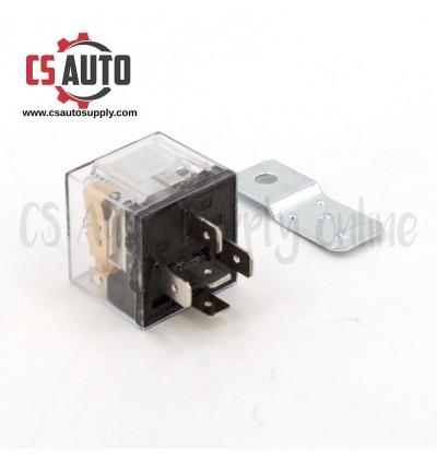 2pcs x Relay 12V 5 Pin 40A Universal  + Metal plate