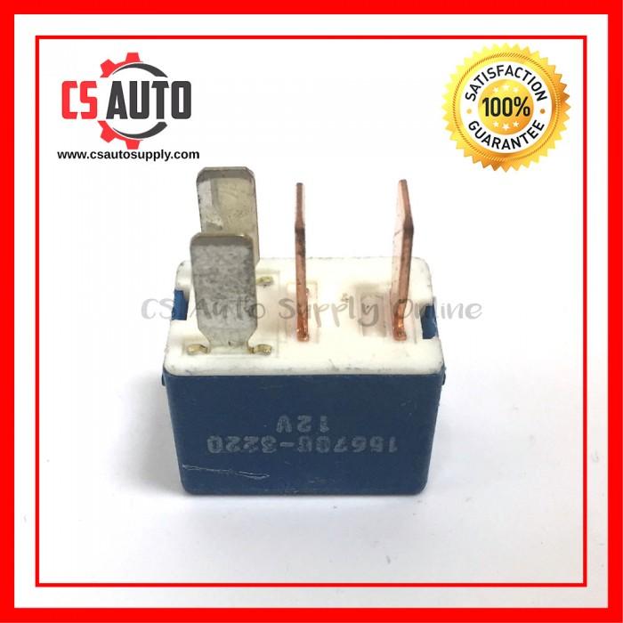 DENSO Relay 4pin 12V Wira Waja Head Lamp 4 pin (USED) on