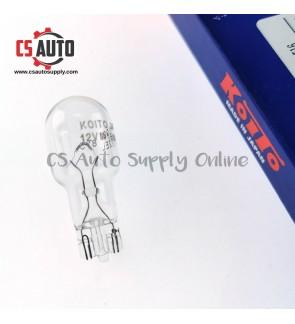 Koito Japan T15 T16 Bulb W16W W15W Genuine Plug in Bulb 12V for Brake Light Single Filament