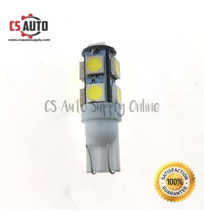 1pc x Led 4090 T10 24V 9smd Bulb White Colour plug in Light Truck Lorry