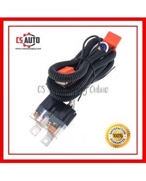 Headlight Headlamp H4 Light Relay Wiring Harness Ceramic Socket Fusebox Wire Kit