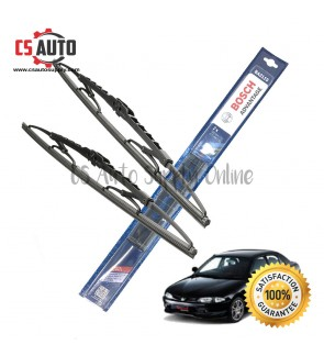 "Bosch Wiper Blade Proton Wira Genuine 1set 17"" 20"""