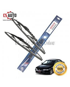 "Bosch Wiper Blade Proton Wira Genuine 1set 17"" 20"""