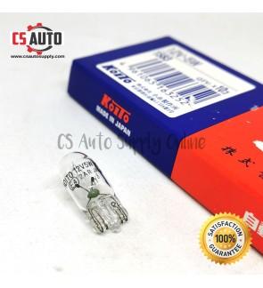 Koito Japan W5W T10 Genuine Toyota Bulbs Turn Signal Parking Light 12V (1pc)