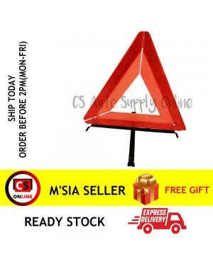 "Large 17"" Universal Emergency Hazard Warning Reflector Triangle Car Lorry Truck Breakdown"