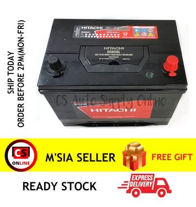 Hitachi NS70L 95D26L SMF Battery MF for Nissan Navara, Mitsubishi Triton, Proton Preve,Toyota Camry, Innova and Estima Ipoh area