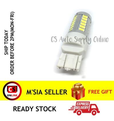 1pc x LED 12V T20 7443 1891 Bulb Brake light Double Mode