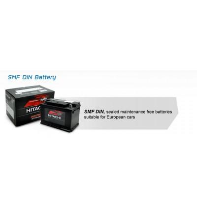 Hitachi DIN55L DIN55 SMF Battery MF 100% Genuine