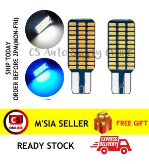 1pc x LED T10 4090 33SMD Bright White Blue Light Bulb