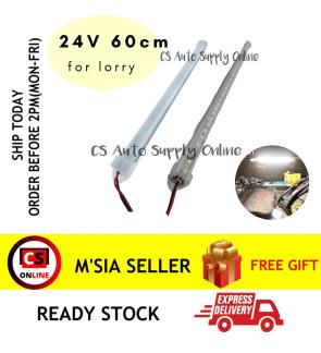 Led smd 24V 60cm Room Lamp Pasar Malam Lampu Back Lamp Boot Light Car Truck Long Bonet