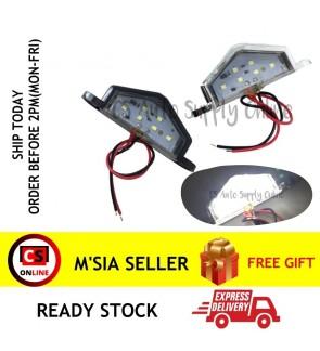 LED 12V 24V Bright 6smd License Plate Number Tag Light Convenience Door Lamp
