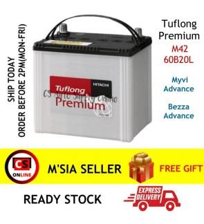 M42 EFB START STOP Car Battery MYVI BEZZA ADVANCE Eco Idle Start Stop System   Tuflong Hitachi   Bateri Kereta