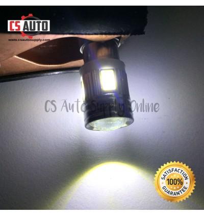1pc x LED 12V BA9S 4038 6smd bulb white 1 kaki