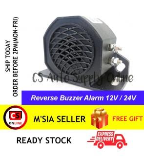 Reverse Siren Buzzer Alarm Horn Beep Truck Lori Car Back Up 105dB 12V 24V