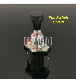 CS EPINA Pull Switch Light Fan On Off Switch Suis Tarik Lampu Kipas Lorry Car Truck Trailer Motor (1pc)